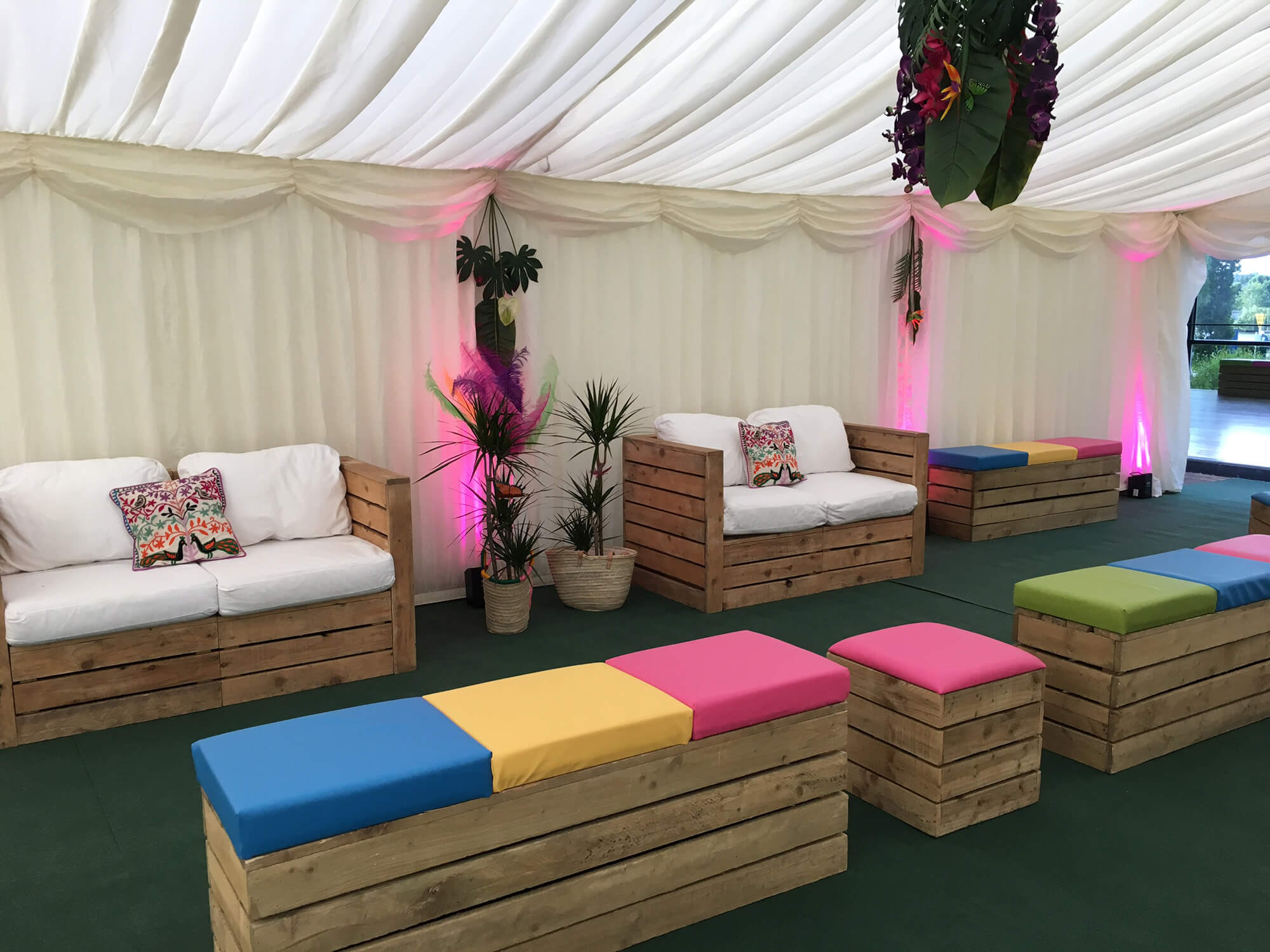 For those wanting to hire furniture alone without the marquee do get in touch
